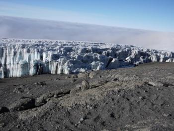 Ice at Edge of Glacier