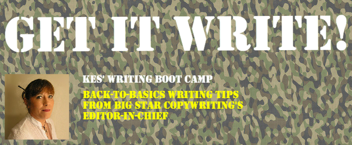 Copywriting Boot Camp from an experienced web copywriter.