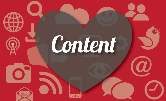 Content is at the heart of online marketing
