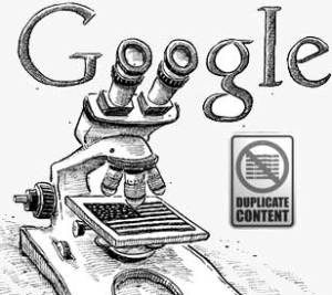 Google and duplicate content