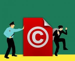 online copyright