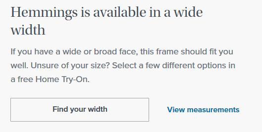 Screenshot showing product description examples