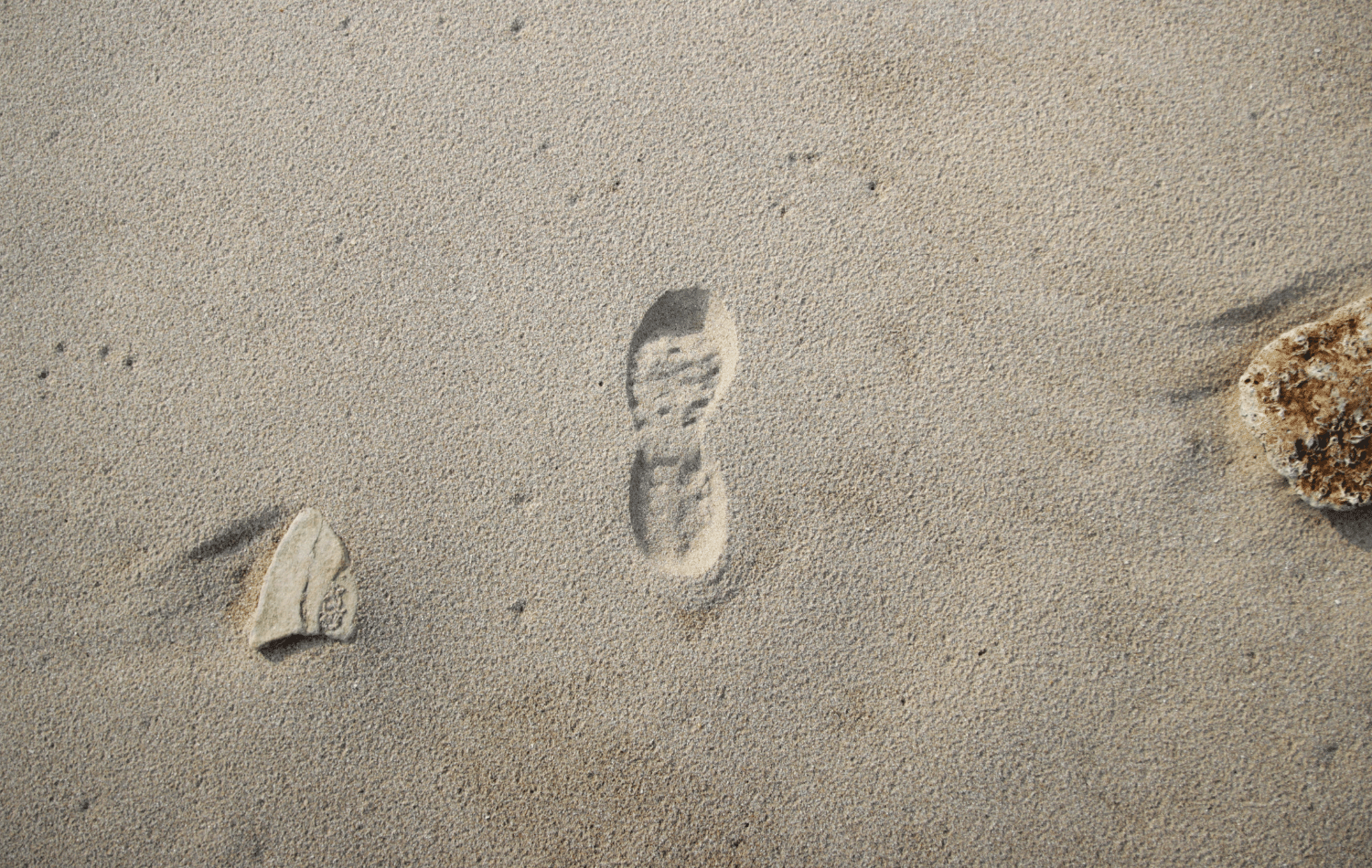 Footprint in the sand - How to create a Brand story